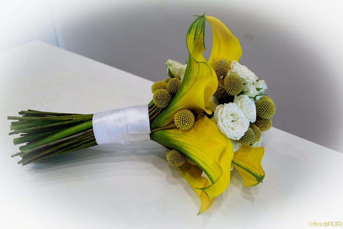 bouquet calle gialle