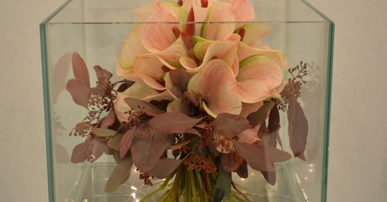 Bouquet con colori autunnali