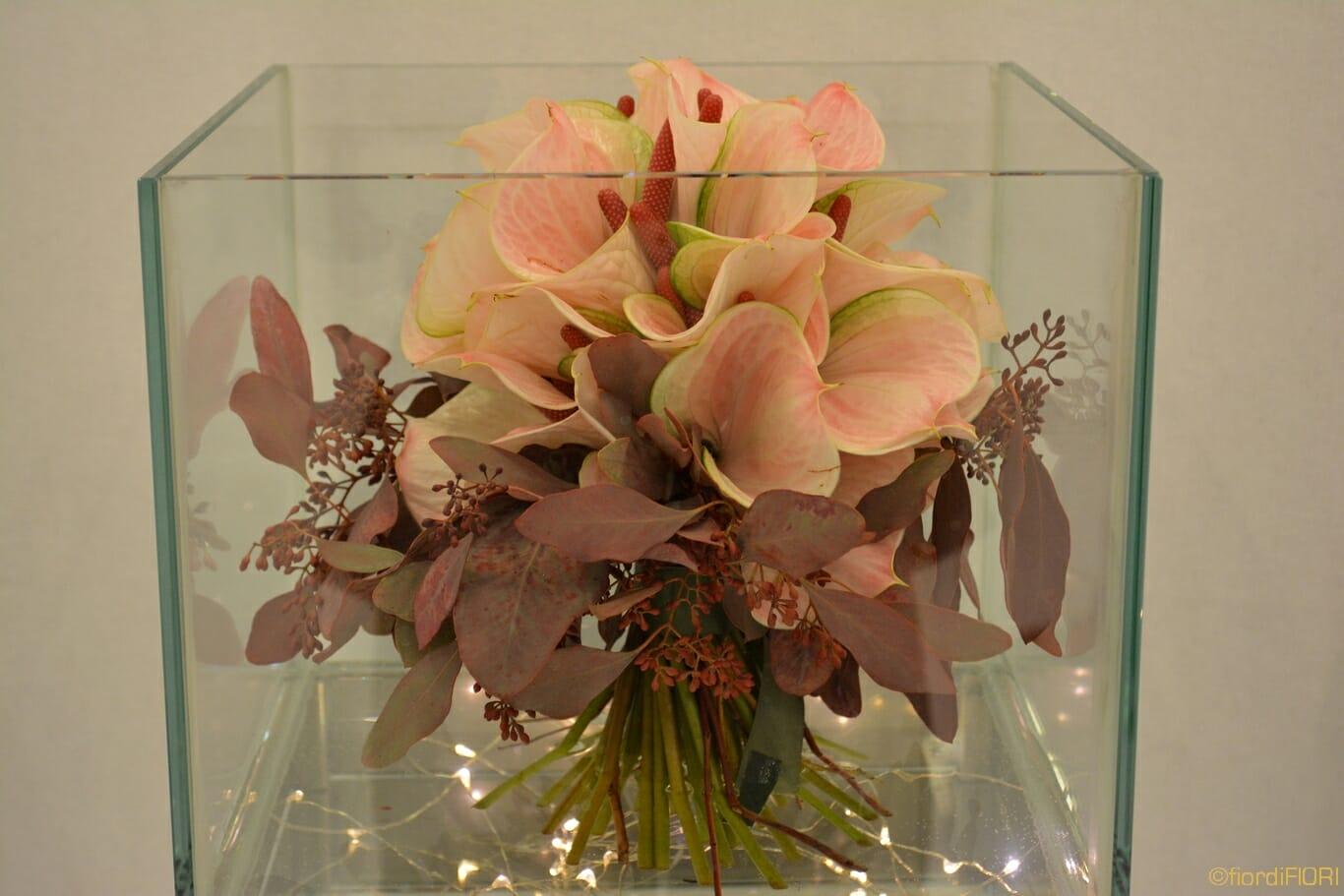 Bouquet tonalità rosa