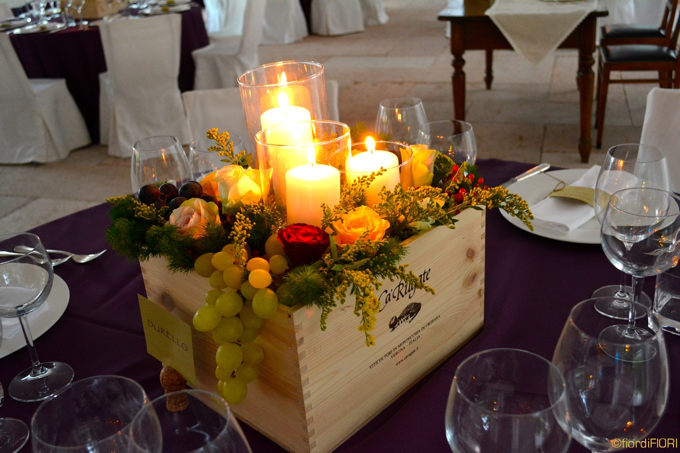 Matrimonio Tema Legno : Fiordifiori matrimonio tema vino