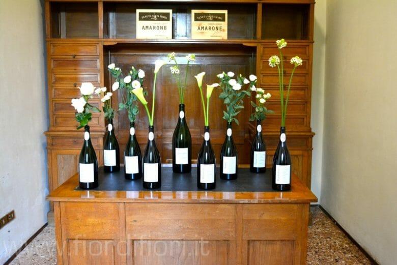 Vasi di bottiglie