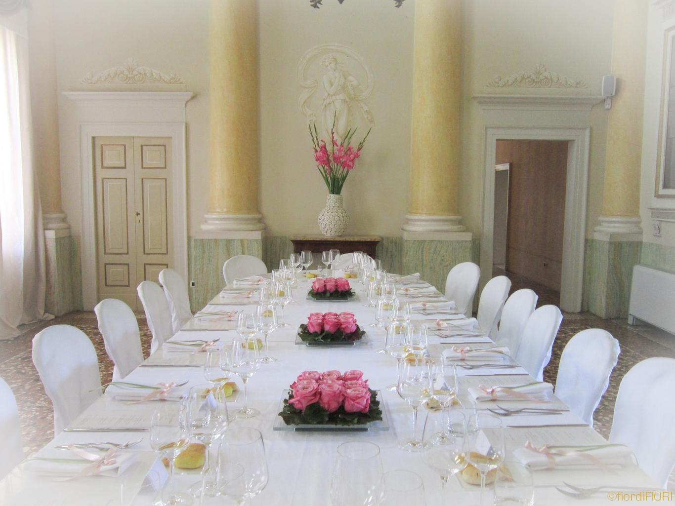 Fiordifiori matrimonio color rosa villa di bagno