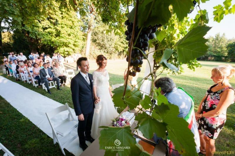 Matrimonio a Villa Brà