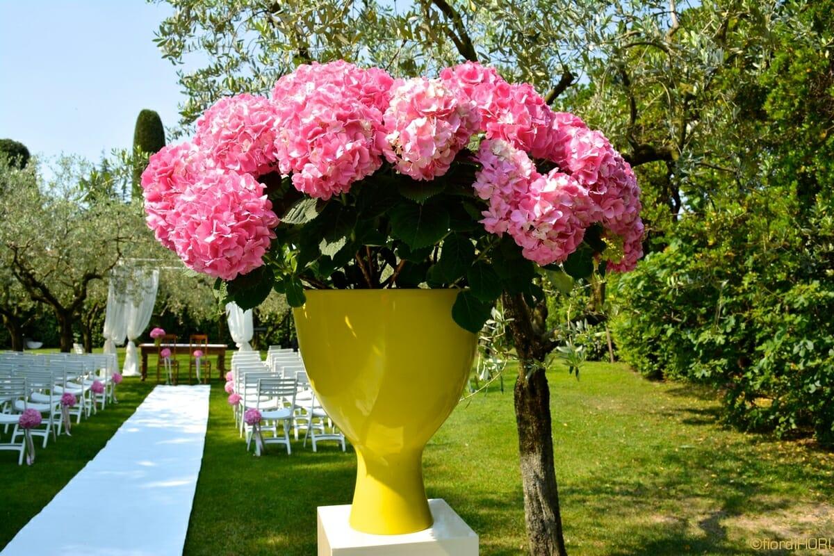 Ortensie Rosa Matrimonio : Fiordifiori matrimonio ortensie rosa