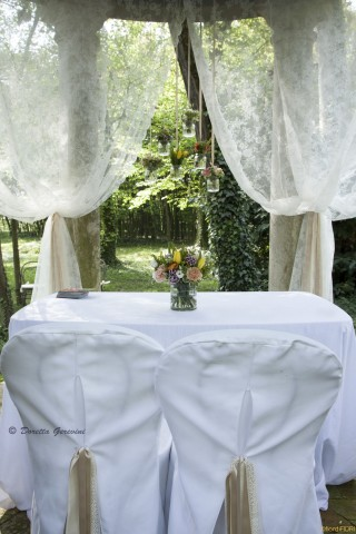 Esposizione all'evento wedding boho chic