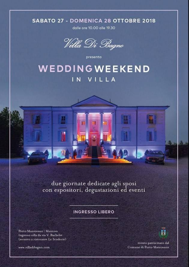 Wedding Weekend a Villa di Bagno é una fiera per gli sposi